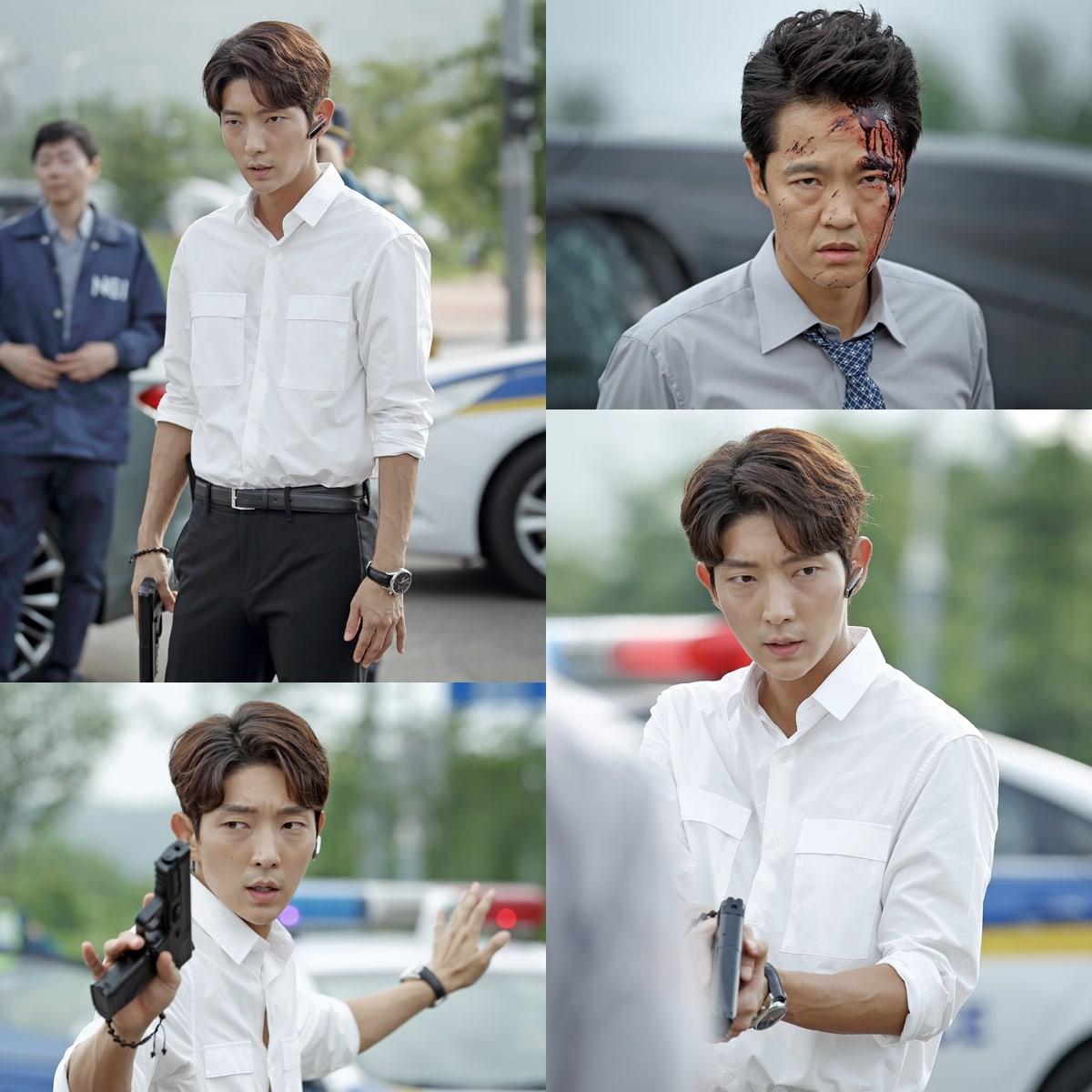 """Lee Joon Gi Is Cool Under Pressure During Dangerous Case In """"Criminal Minds"""" Stills"""