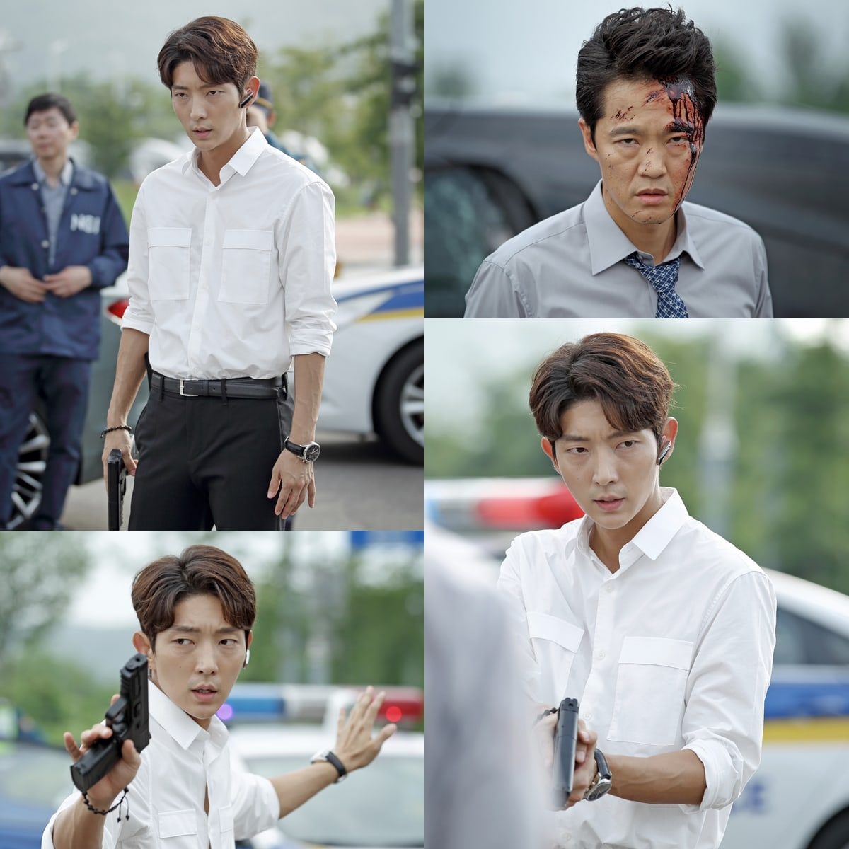 "Lee Joon Gi Is Cool Under Pressure During Dangerous Case In ""Criminal Minds"" Stills"