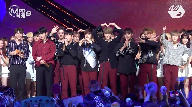 Watch: Wanna One Grabs 2nd Win For Energetic On M!Countdown, Performances By NUEST W, GFRIEND, NCT Dream, And More