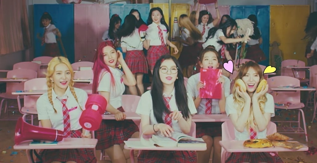 "Watch: Red Velvet Members Are Adorable Schoolgirls In Love In ""Rebirth"" MV"