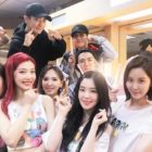 SM Artists Unite To Show Support At Red Velvet's Concert