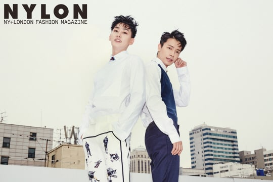 Super Juniors Donghae And Eunhyuk Shoot First Pictorial Since Being Discharged