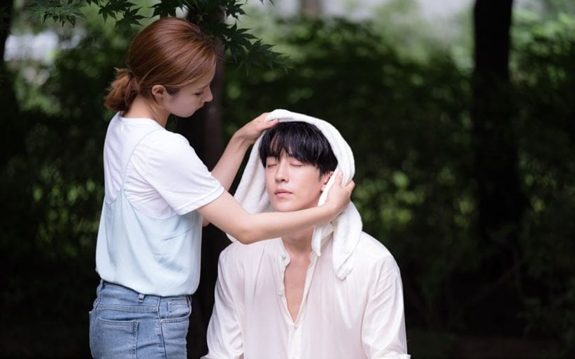 """Nam Joo Hyuk Accepts Shin Se Kyung's Caring Hands Like An Obedient Puppy In New """"Bride Of The Water God"""" Stills"""