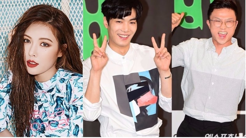 """HyunA To Join NU'EST's JR And Park Sung Kwang As Guests On """"Ask Us Anything"""""""