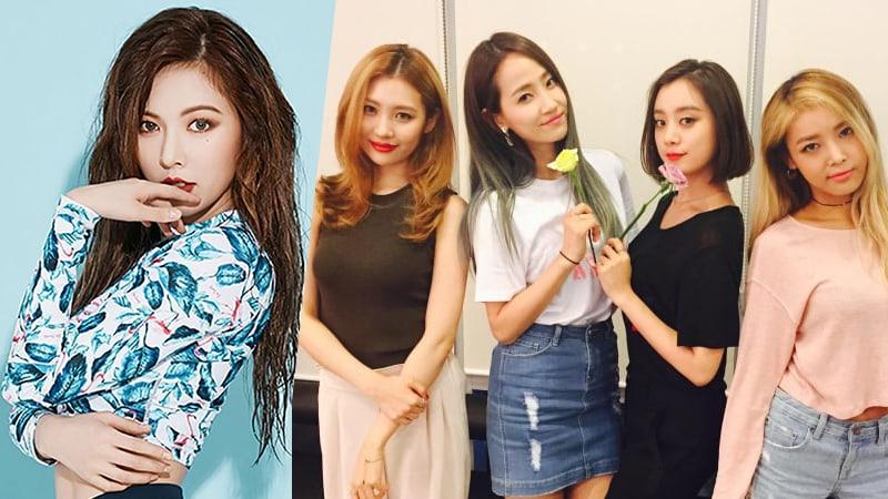Former Wonder Girls Members Show Their Support For Sunmi