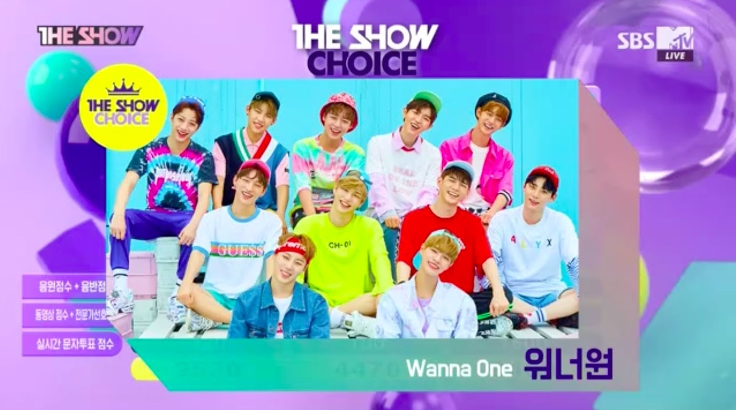 Watch: Wanna One Takes 6th Win For Energetic On The Show, Performances By GFRIEND, Samuel Kim, And More