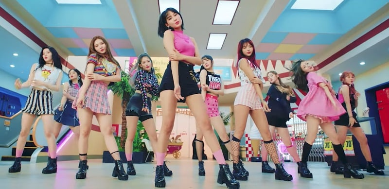 "Watch: PRISTIN Takes Over The Mall In MV For ""We Like"""