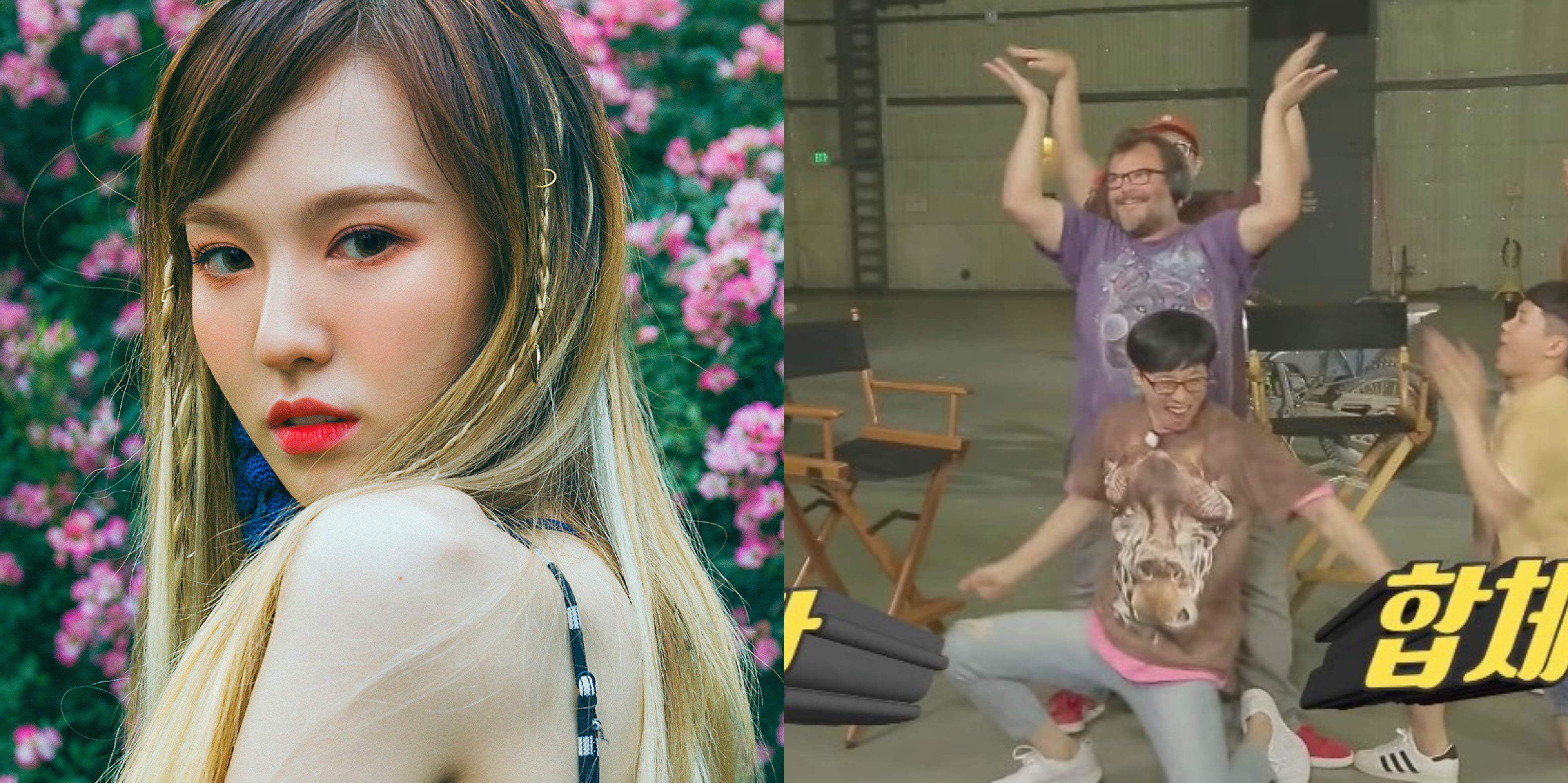 "Red Velvet's Wendy Talks About Seeing Jack Black Sing ""Red Flavor"""