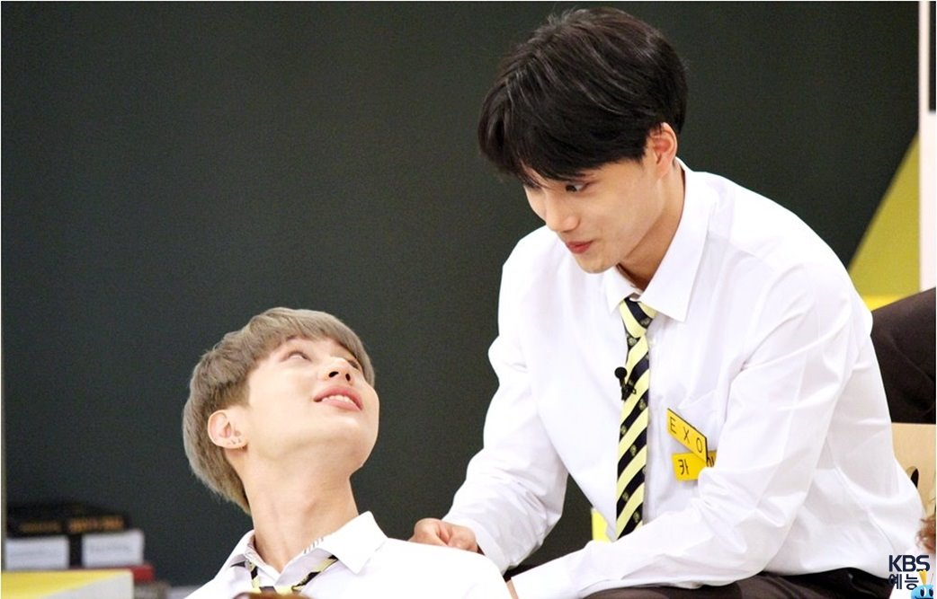 SHINees Taemin And EXOs Kai Show Off Close Friendship