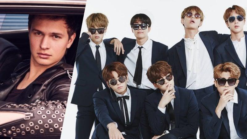 Ansel Elgort Reveals Plans To Meet BTS