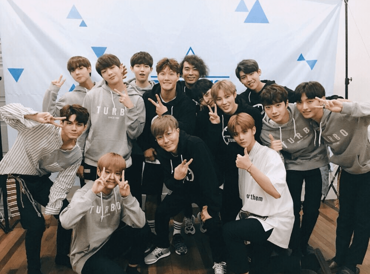 Kim Jong Kook Promises To Protect Wanna One