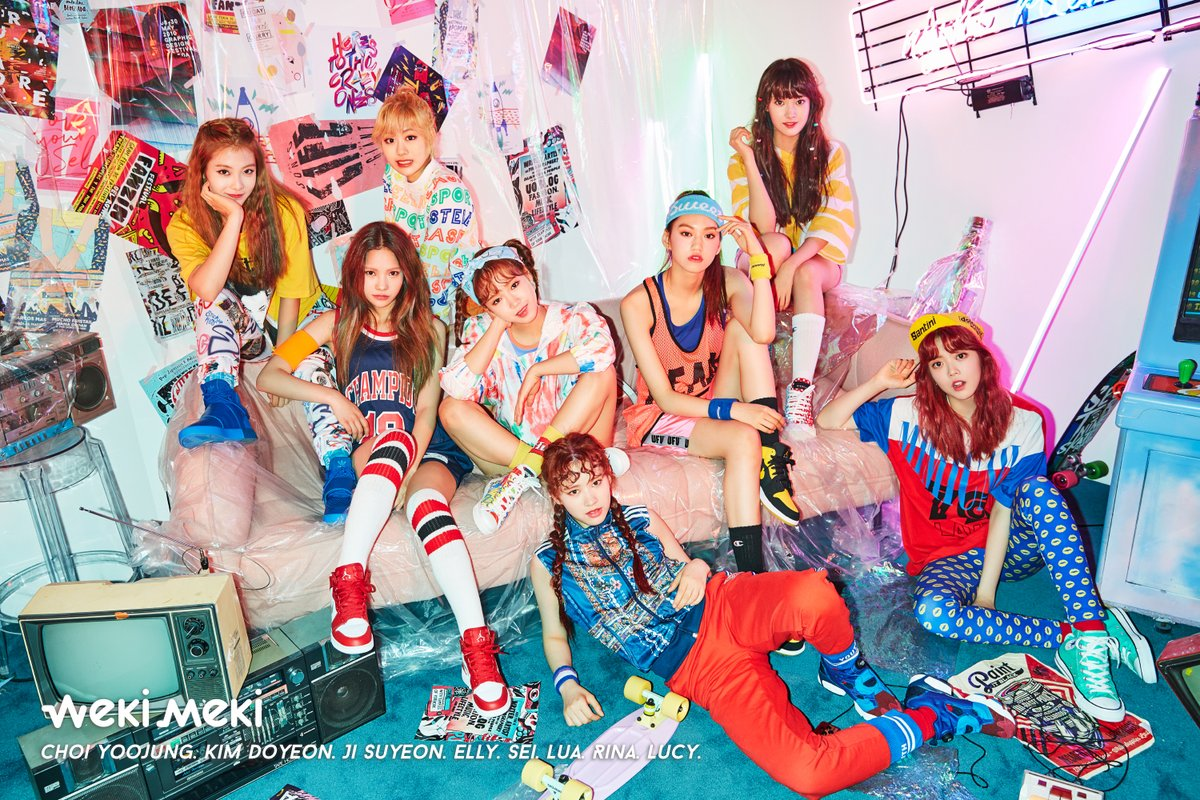 Weki Meki Records Highest Album Sales Among 2017 Rookie Girl Groups