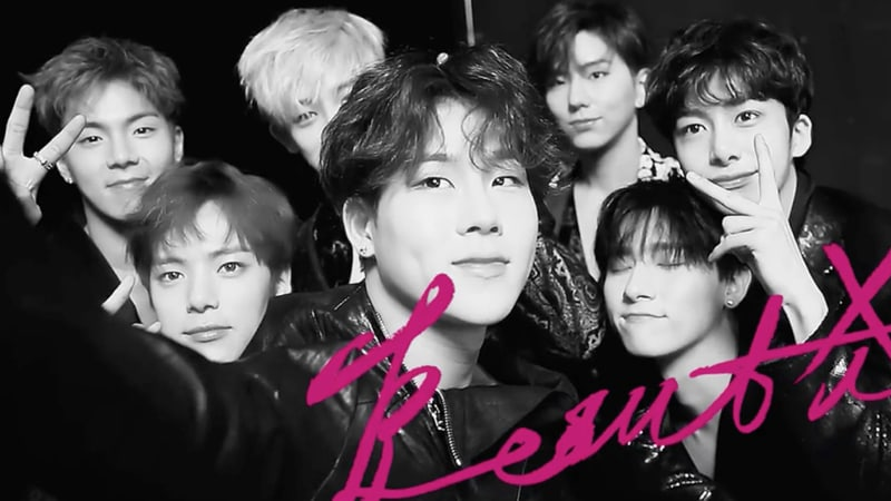 "MONSTA X Sweeps Japanese Charts With ""Beautiful"""