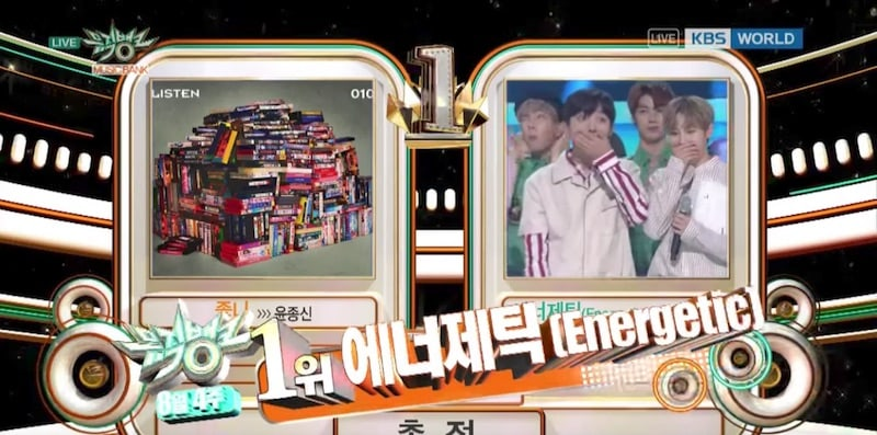 Watch: Wanna One Takes 9th Win For Energetic On Music Bank, Performances By PRISTIN, Sunmi, JJ Project, And More