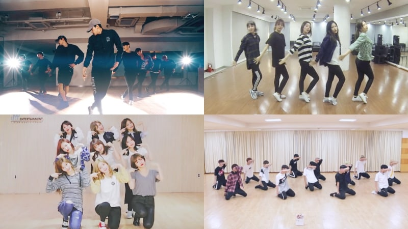 Watch: Idol Groups Amaze With Their Power And Accuracy In Dance Practice Videos