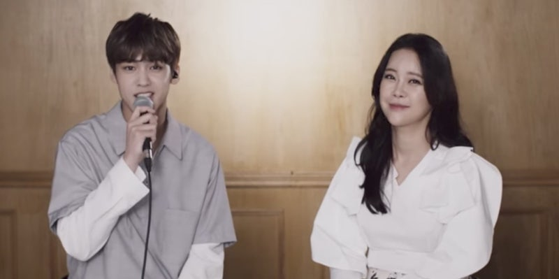 Watch: MYTEEN's Song Yu Bin And Baek Ji Young Reunite To Sing Medley Of Duets