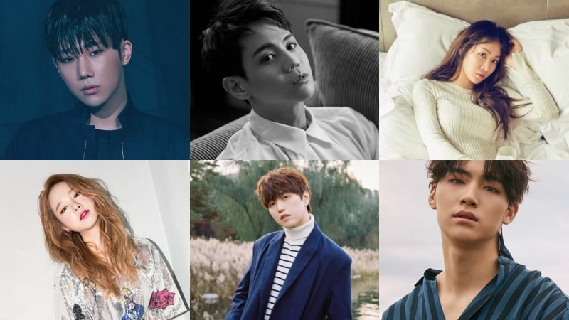 Update: Primary Teases Idol-Filled Album Featuring Soyou, Yoseob, Sunggyu, And More