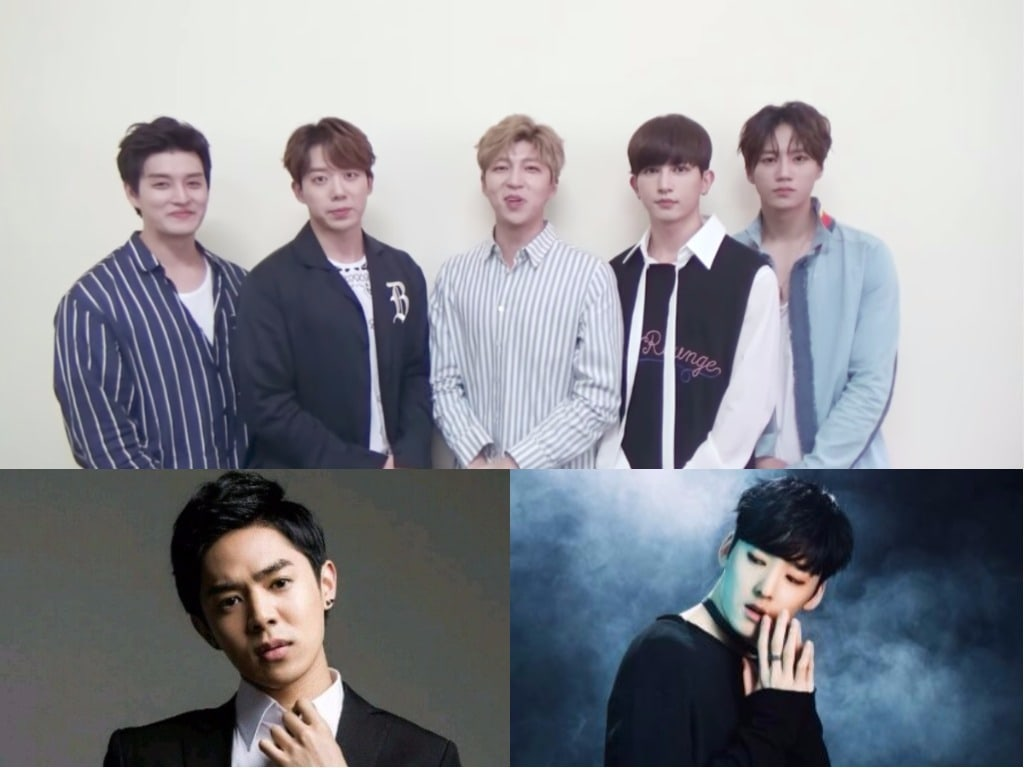 Former And Current Members Of U-KISS Celebrate Groups 9th Debut Anniversary