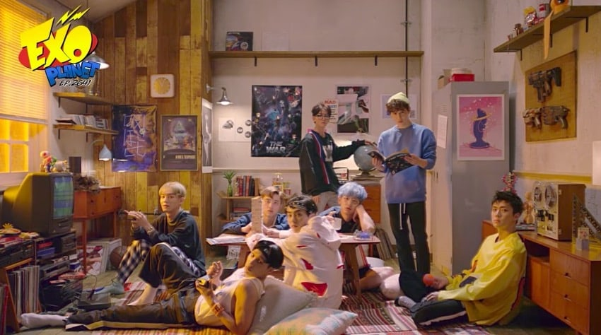 """Watch: EXO Shares """"2nd Message From EXO Planet"""" Video"""