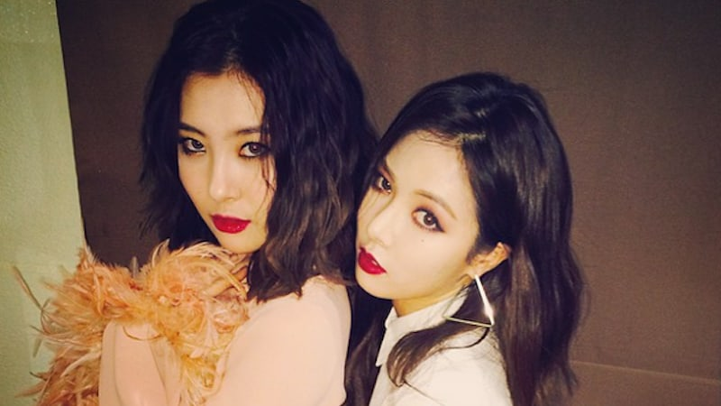 HyunA Talks About Making Comeback At Similar Time As Former Group Member Sunmi