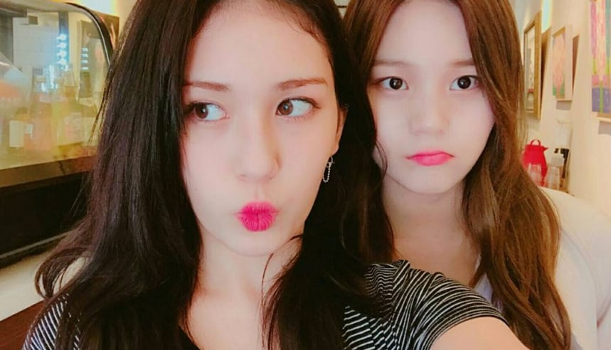 Jeon Somi And GFRIEND's Umji Share Photos Of Their Afternoon Date
