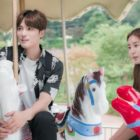 """Kim Jaejoong And UEE Enjoy A Peaceful Date In New """"Manhole"""" Preview Stills"""