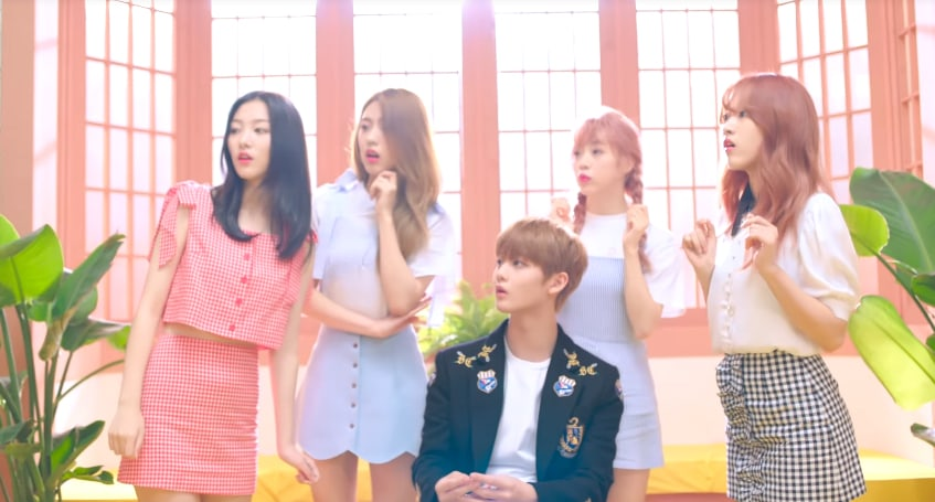 Watch: GOOD DAY Hangs Out With Wanna Ones Bae Jin Young In Debut MV For Rolly