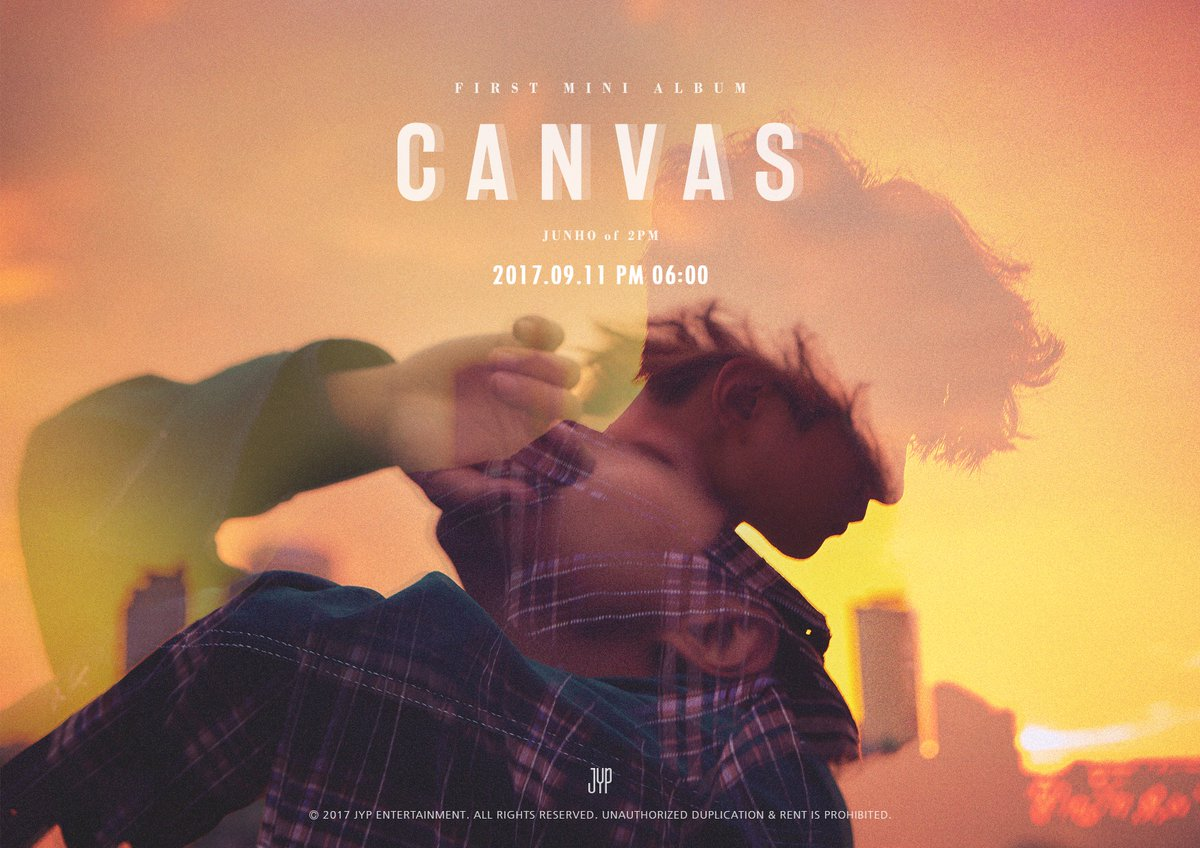 2PMs Junho Announces Solo Mini Album Canvas