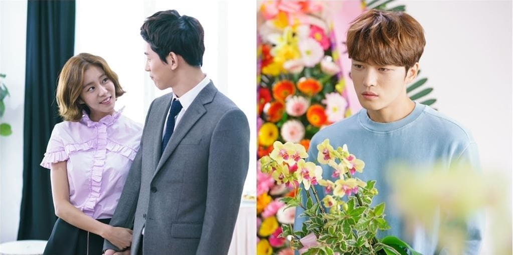 "Kim Jaejoong Quietly Watches From Afar As Jang Mi Kwan Proposes To UEE In New ""Manhole"" Stills"
