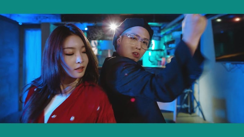 "Watch: Babylon And Kim Chungha Sing ""LALALA"" In New MV"