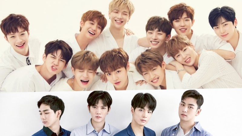 Wanna One And NUEST Members Top Advertisement Model Survey