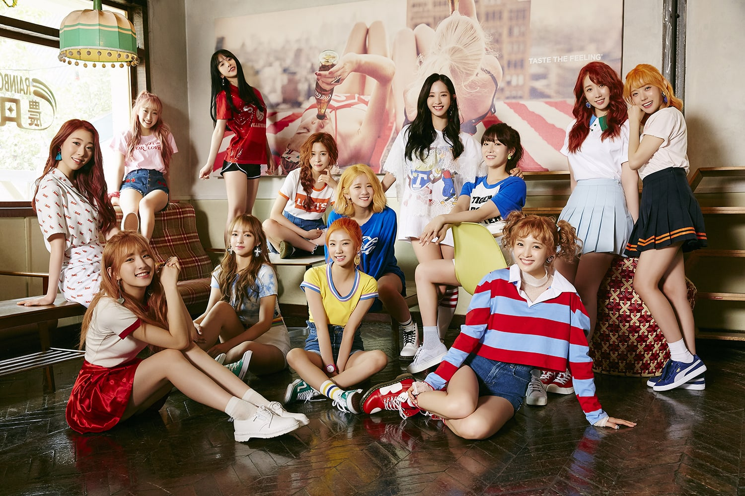 Cosmic Girls Announces Official Fan Club Colors And Unveils First Light Stick