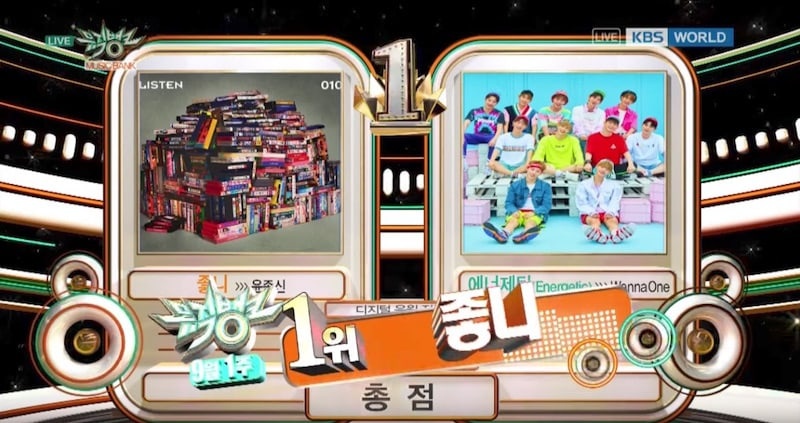 "Watch: Yoon Jong Shin Takes 1st Win With ""Like It"" On ""Music Bank,"" Performances By HyunA, Jeong Sewoon, Golden Child, And More"