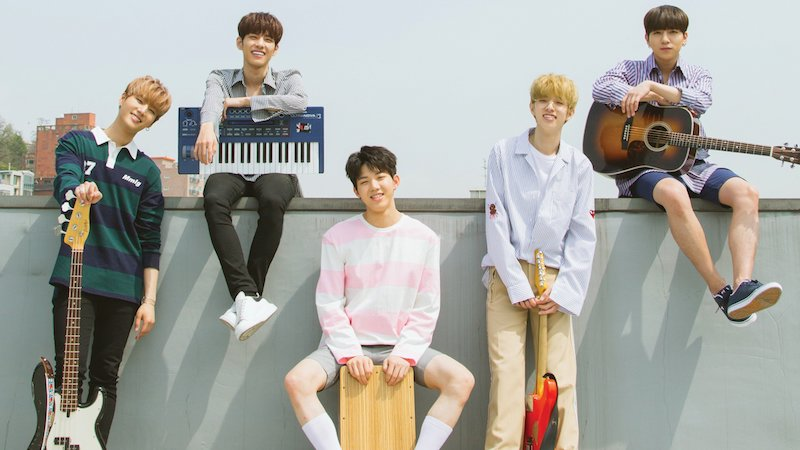 "DAY6 Achieves Impressive Results On Music Charts Worldwide With ""When You Love Someone"""