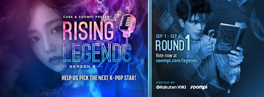 "VOTE NOW: Round 1 Of ""Rising Legends Season 2"" Presented By Cube Entertainment And Soompi"