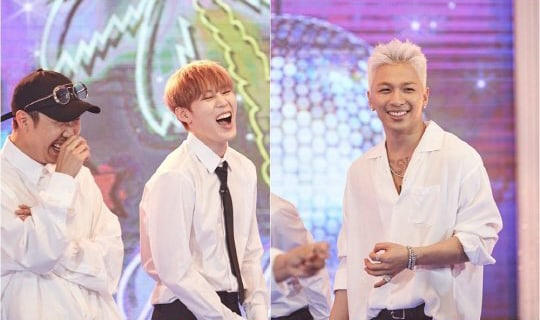 """Taeyang, Ha Sung Woon, And Taeil Have A Blast In Final """"Infinite Challenge"""" Episode Before Temporary Cancellation"""