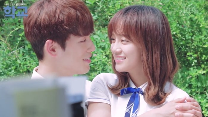"Watch: Kim Sejeong Of ""School 2017"" Teases Kim Jung Hyun For His BTS Dance Moves"