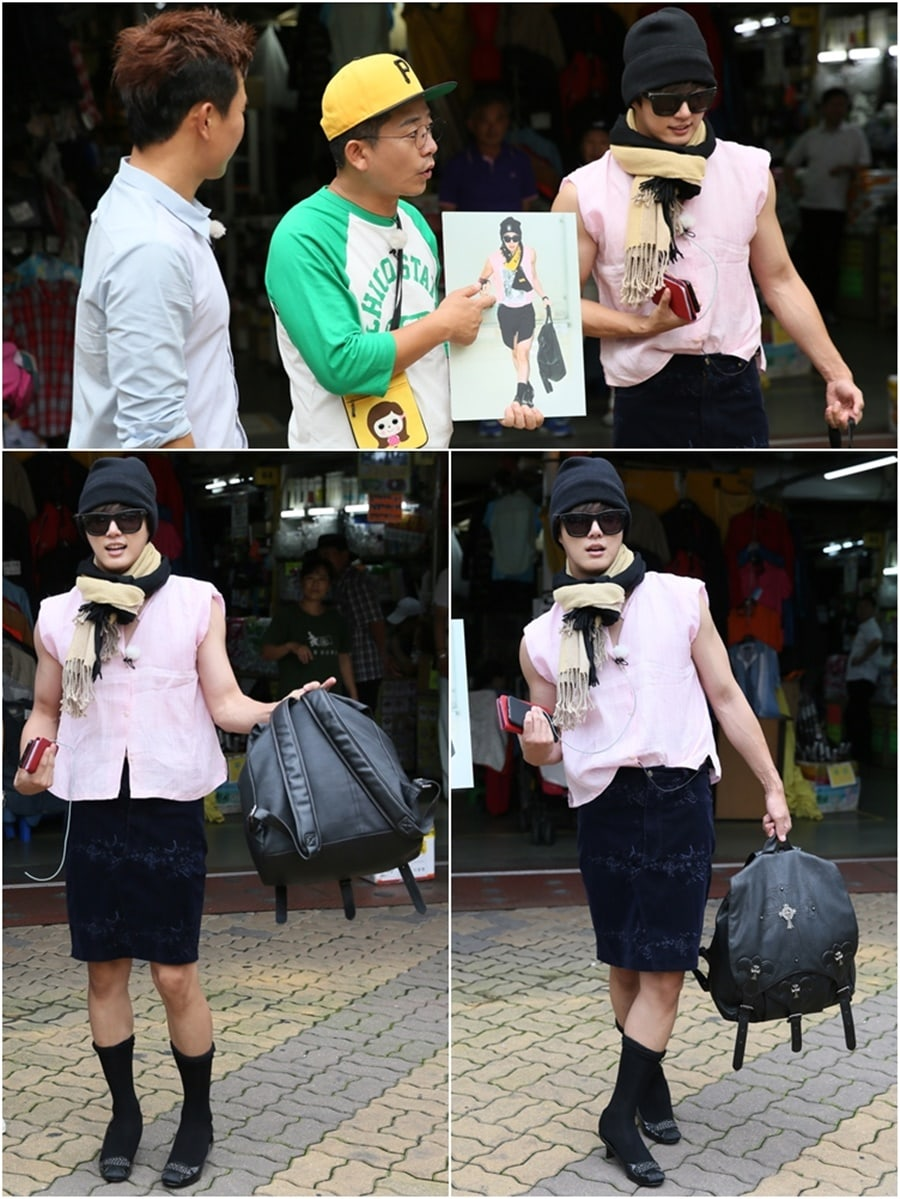 Yoon Shi Yoon To Channel G-Dragon In 2 Days 1 Night Fashion Mission