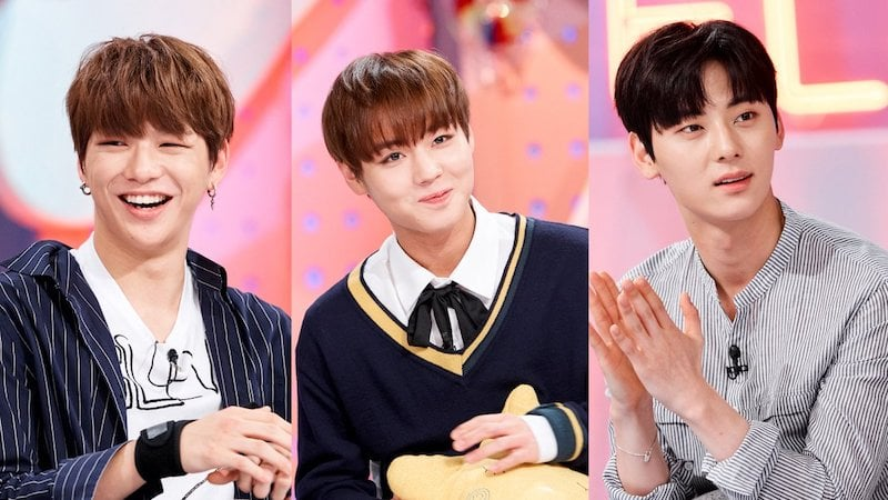 Watch: Wanna Ones Kang Daniel, Park Ji Hoon, And Hwang Min Hyun Charm In Hello Counselor Preview