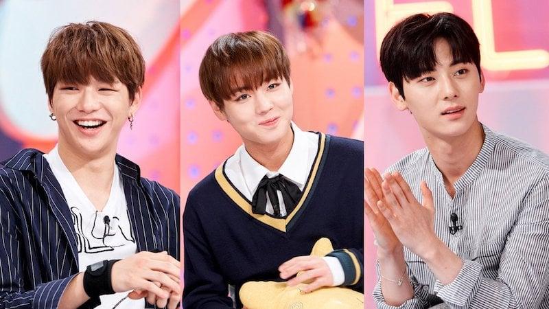 "Watch: Wanna One's Kang Daniel, Park Ji Hoon, And Hwang Min Hyun Charm In ""Hello Counselor"" Preview"