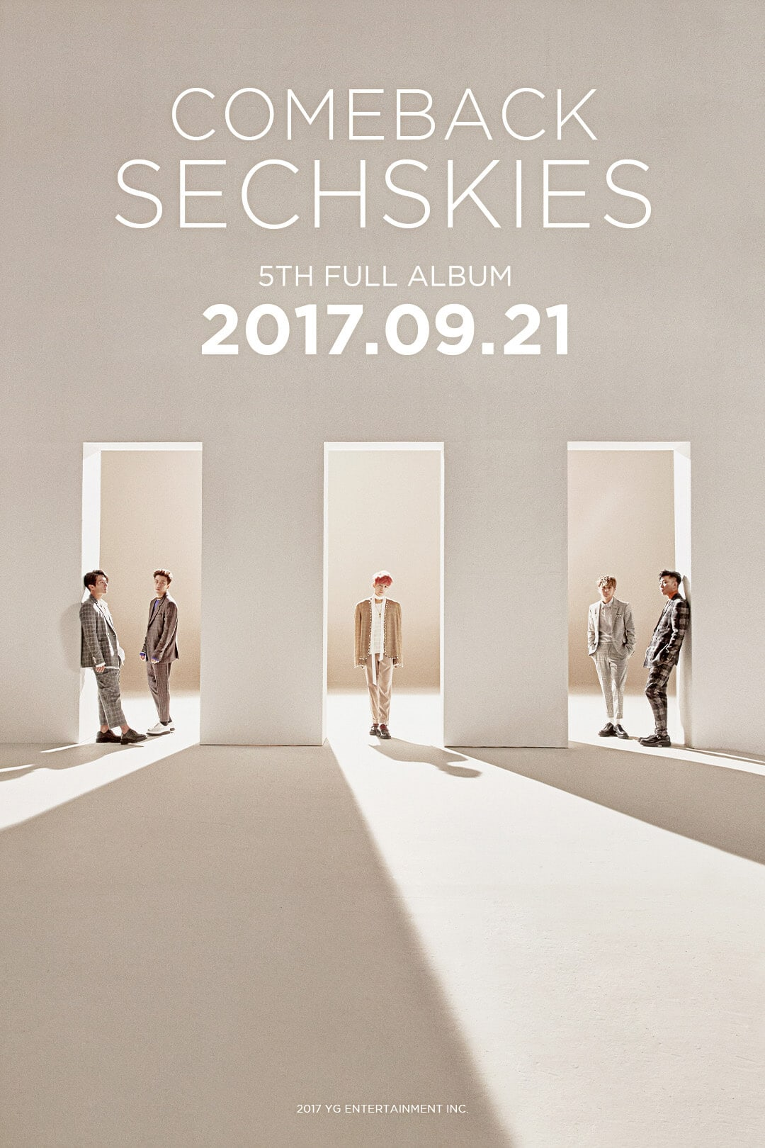 SECHSKIES Reveals Teaser Image For First Studio Album Since 1999