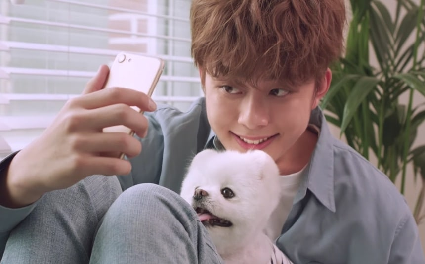 """Watch: Yoo Seon Ho Adorably Takes Care Of A """"Pet"""" In 10cm's New MV"""