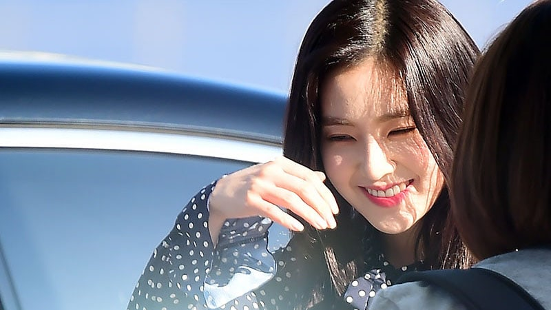 Red Velvets Irene Travels With Noticeably Increased Security Following Taeyeons Airport Incident