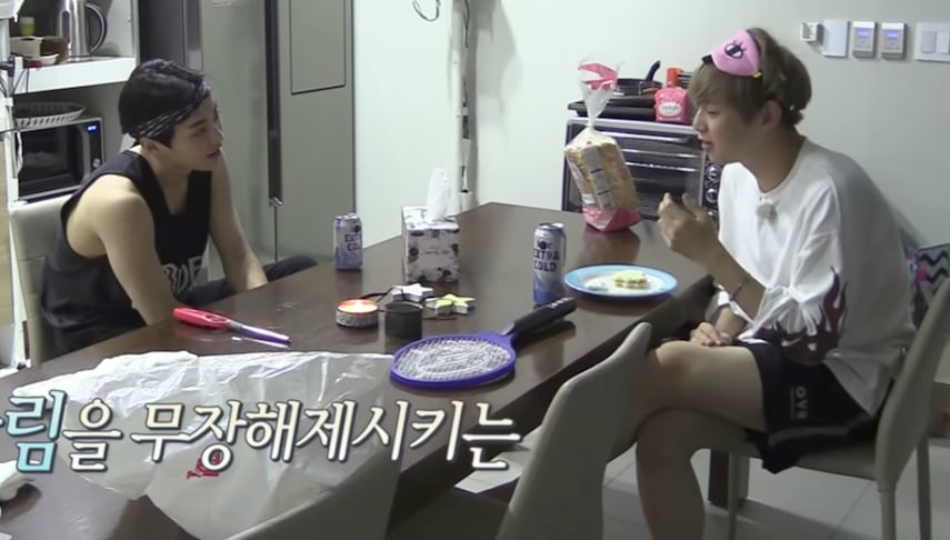 Watch: EXOs Xiumin And Wanna Ones Kang Daniel Get Acquainted As Roommates