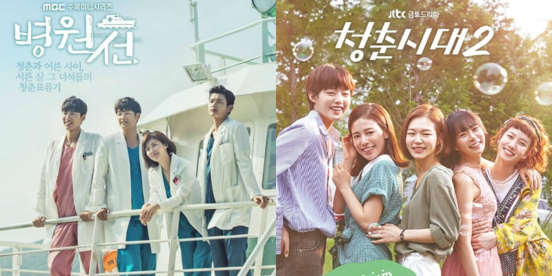 """""""Hospital Ship"""" And """"Age Of Youth 2"""" Top List of Buzzworthy TV Dramas"""