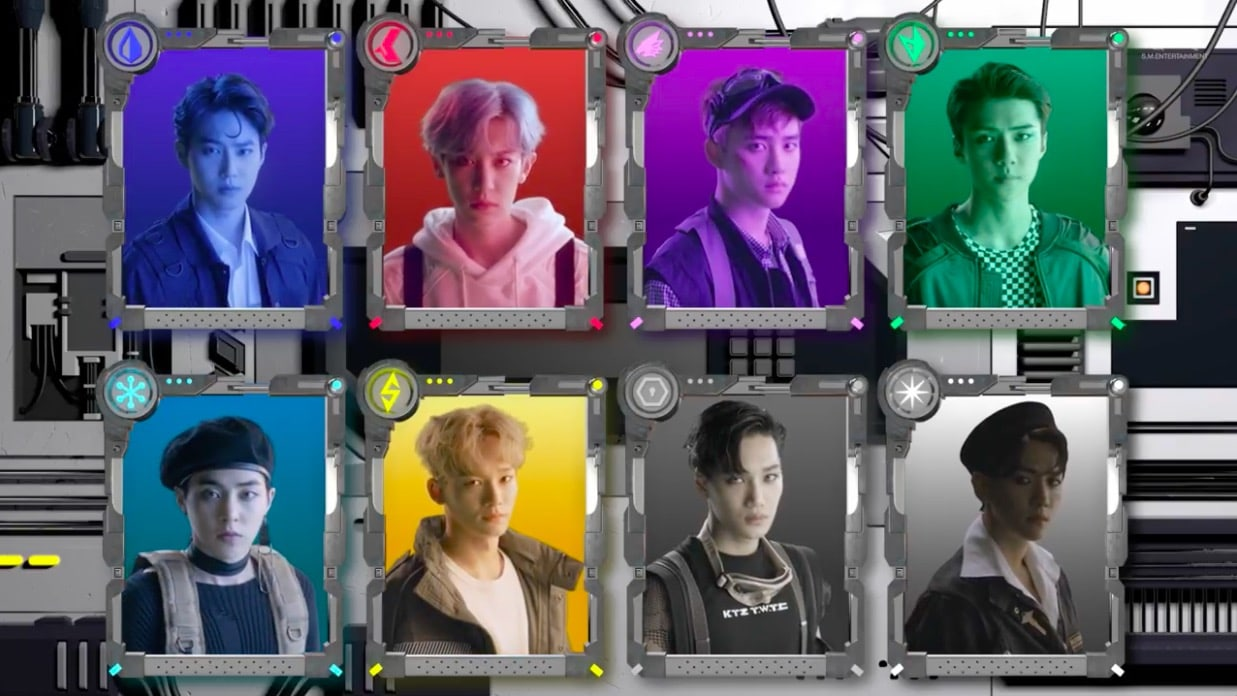 "EXO Tops Realtime Charts With ""Power"""