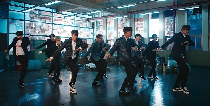 Watch: PENTAGON Runs To You Like This In Dreamy MV