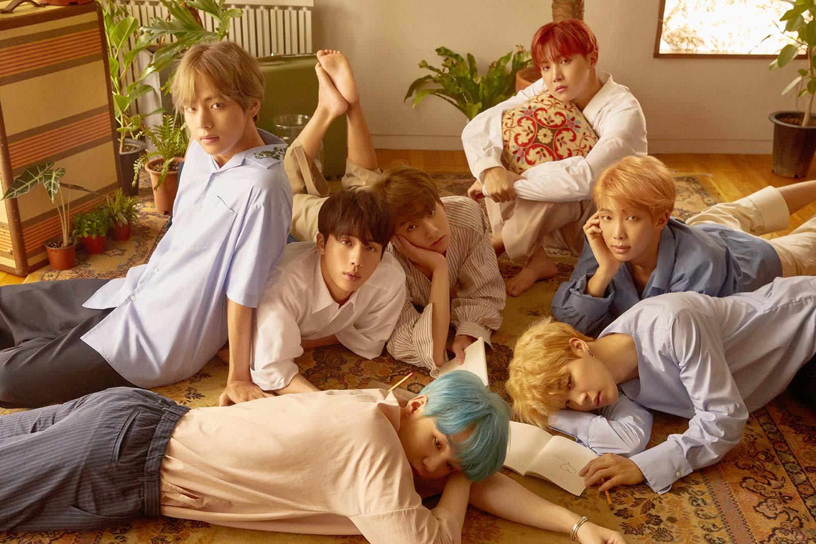 BTS Reveals Sets Of Gorgeous Concept Photos For New Mini Album