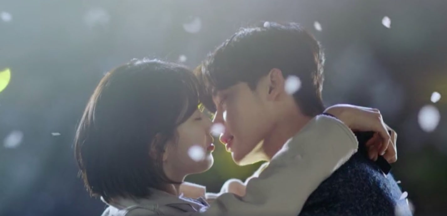 "Watch: Suzy And Lee Jong Suk Star In Beautiful And Dramatic Teaser For ""While You Were Sleeping"""