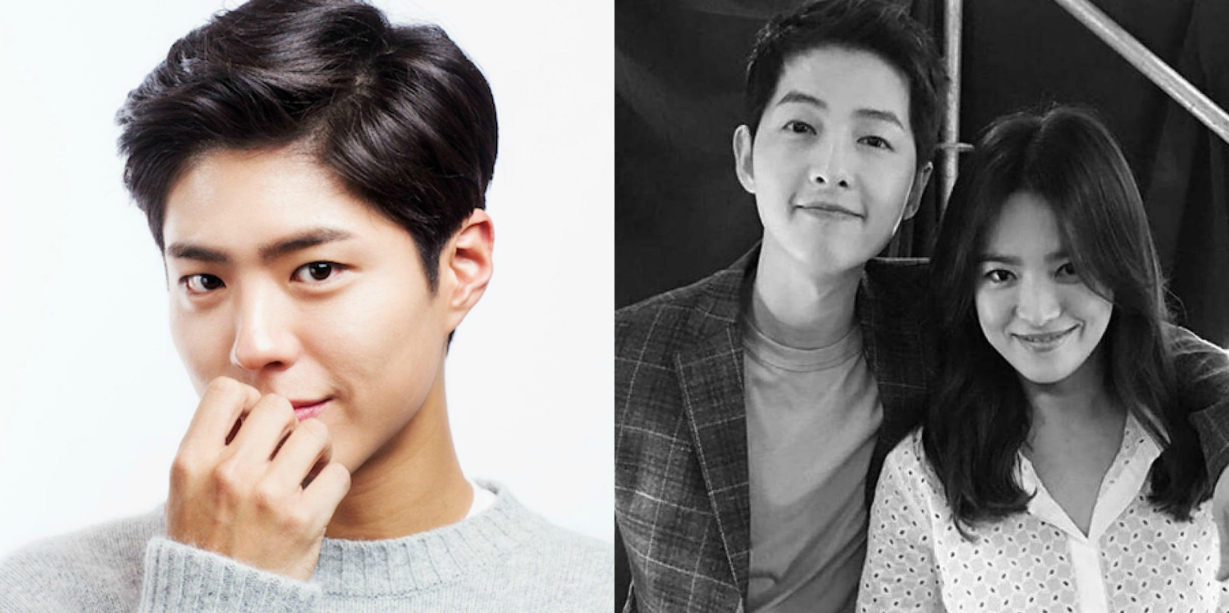 Park Bo Gum Congratulates Song Joong Ki And Song Hye Kyo On Upcoming Marriage